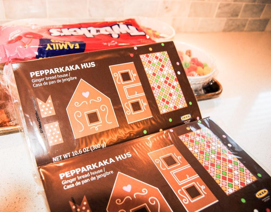 IKEA Gingerbread House Kit