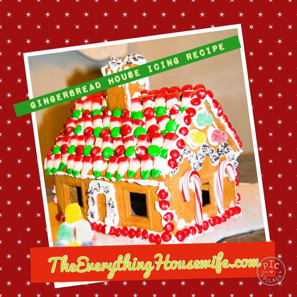 Ikea Hack Gingerbread House, Royal Icing