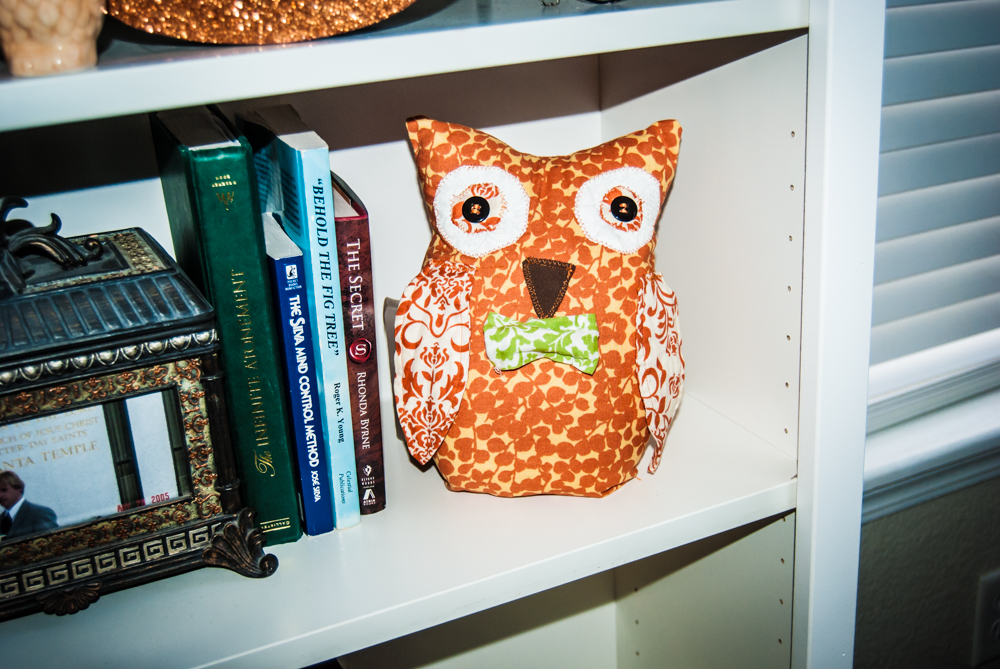 Owl/Fall halloween Pillow