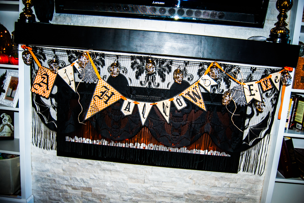 FREE printable all hallows eve banner